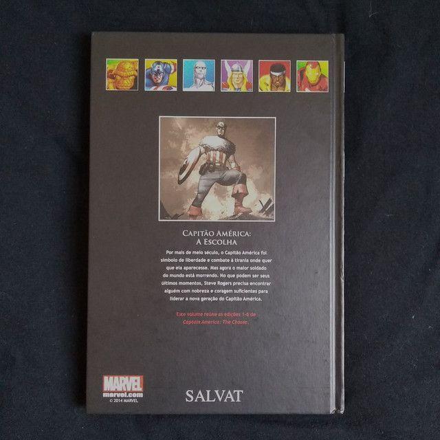 Capitão América 'A Escolha' (Vol. 55) - HQ Marvel Coleção Oficial de Graphic Novels - Foto 2