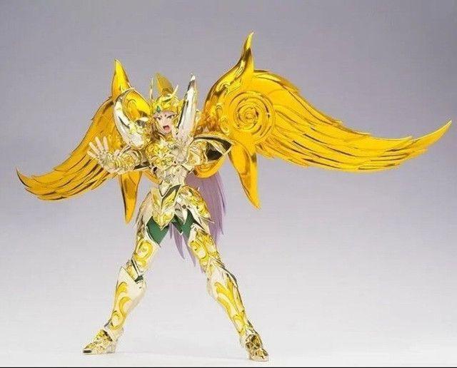 Mu de Áries Cloth Mith Ex Bandai Soul of Gold  - Foto 3