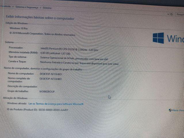 Vendo CPU G3250 3.2 GHZ, 4 GB DDR3, HD COM 320GB