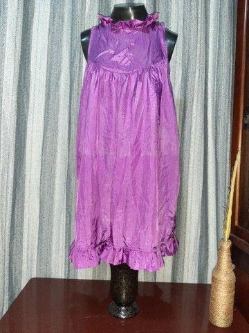 Vestido Lilás - Tamanho  M - Foto 6