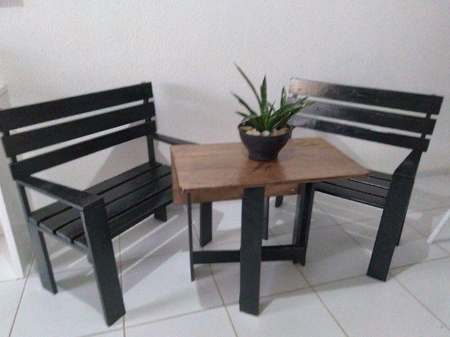 Conjunto de cadeiras +mesa - Foto 4