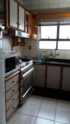 Apartamento para venda 03 dormitórios em Santa Maria com hidromassagem sacadas com churras - Foto 6