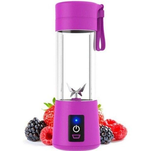 Mini Liquidificador Portátil Shake Juice Cup e Cabo Usb<br><br> - Foto 4