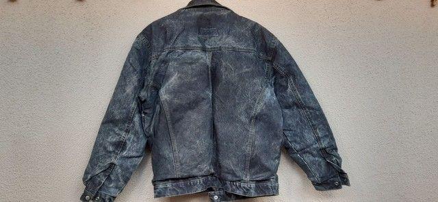 Jaqueta masculina de lona  - Foto 3