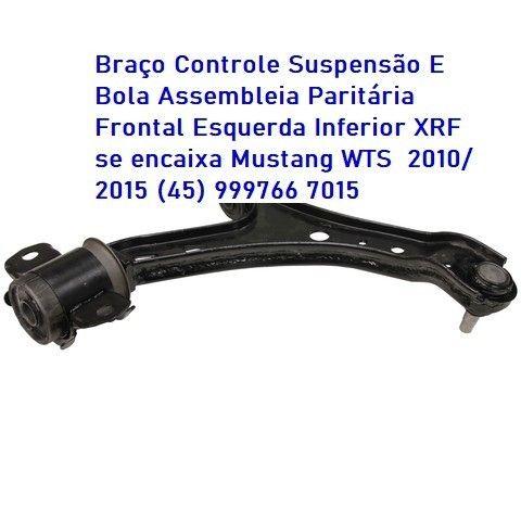 BraçoLado Dianteiro Esquerdo Inferior Compatível com Ford Mustang 2005-2011 - Foto 4