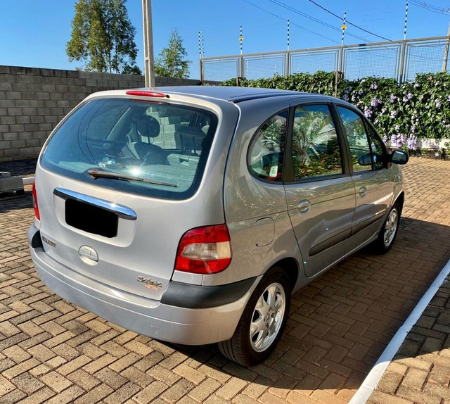 Renault Scenic 1.6 Privilége HI-Flex - Placa A- pneus novos- Leiam - Foto 14