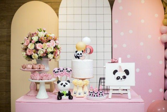 Decoração festa panda Niterói - Foto 5