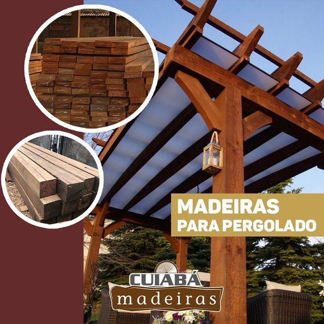 Madeiras/lascas/tábua/viga/Deck/Pergolado/assoalho/palanque/compensados/itauba - Foto 3