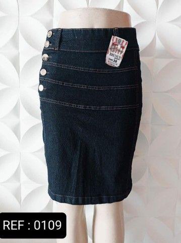 Kit 10 saias Jeans Evangélica direto da fábrica para vender - Foto 5