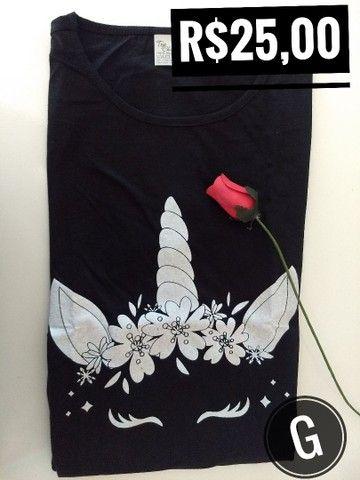 T-shirt / Blusas Femininas - Foto 4