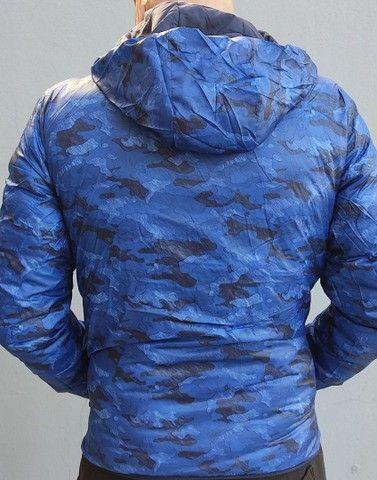 Jaqueta de inverno unissex. <br>Super quente. <br>Reversível.<br>Preta  - Foto 4