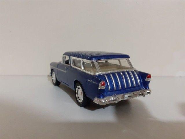Carrinho De Ferro Miniatura Chevy Nomad 1955 Escala 1:40 - Foto 3