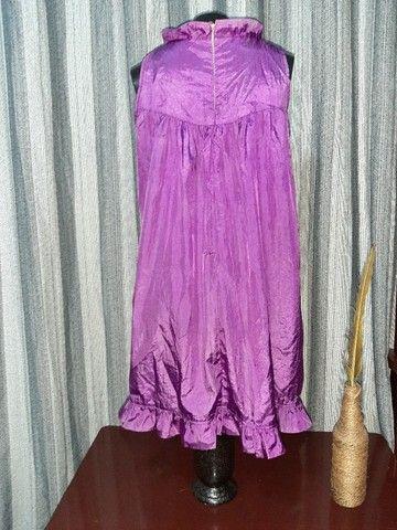 Vestido Lilás - Tamanho  M - Foto 5