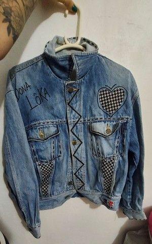 Jaqueta jeans Elle et Lui