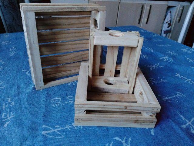3 caixinhas Organizadora - Foto 3