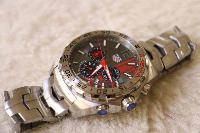 Relógio Modelo P.D - Cor: /MostradorPreto - 100%Funcional - Foto 4
