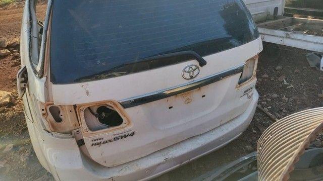 Tampa Traseira Toyota Hilux SW4 Revisado Com Garantia