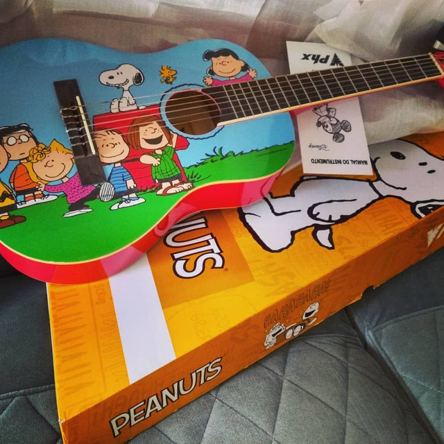 Violao infantil Snoopy PHX 1/4 - Foto 2