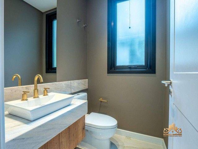 SCHELL IMÓVEIS vende, casa com 3 dormitórios (sendo 2 suítes), 348m² por R$ 3.300.000 - Ma - Foto 19