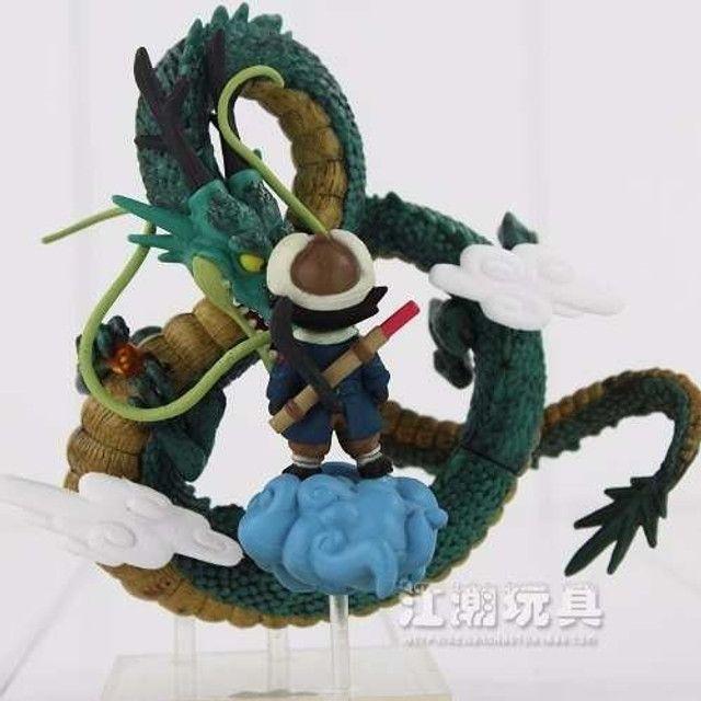 Action Figure Dragon Ball Goku Menino + Shenlong - Foto 3