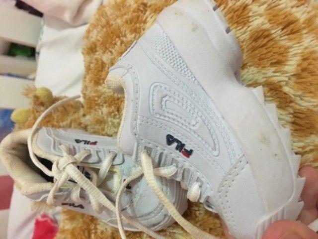 Sapato fila infantil unissex