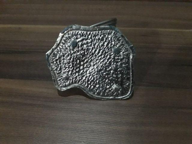 Porta Guardanapo Antigo em Metal - Foto 6
