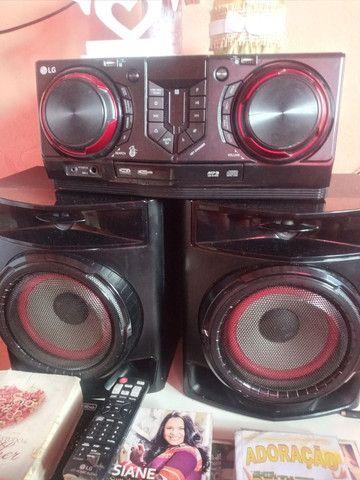 Aparelho de som potente é novo da LG 440wRMS * - Foto 2