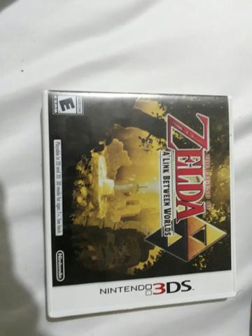 Nintendo 3ds - Jogo Zelda a Link between Worlds