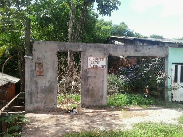 Vendo terreno no marabaixo 3 a traz da escola Nilton Balieiro na Av 11