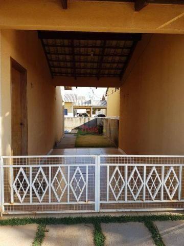 Casa com 02 quartos sendo 01 suíte, cozinha, sala, 01 banheiro, área de serviço e 01 vaga  - Foto 3
