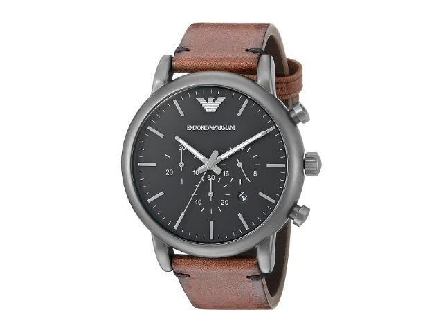 22dedbe19 Relógio Emporio Armani (Masculino) Marrom - Bijouterias, relógios e ...