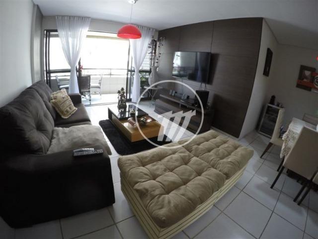 Excelente apartamento com 133 m², 4/4 (sendo 03 suítes), na Jatiúca. REF: D1002