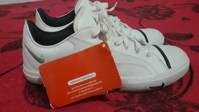 68826bb3f1 Sapatenis Da Nike Original Novo! por só 70 Reais - Roupas e calçados ...