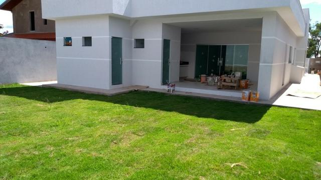 Samuel Pereira oferece Casa Moderna Alto da Boa Vista 3 Suites Churrasqueira Financia FGTS - Foto 19