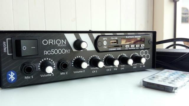 Amplificador orion 300 rms nunca usado na caixa