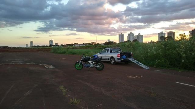 Moto para manobras stunt wheeling - Foto 3