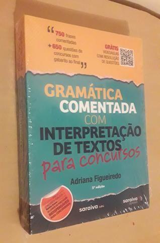 Gramática Comentada 5°Ed 2019, 650 Questões (Grátis Videoaulas)