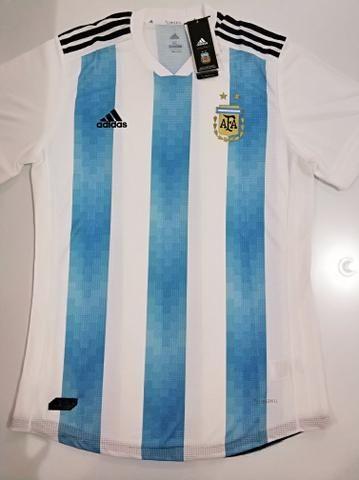 Camisa Argentina I Player 18/19 - Tam.: G