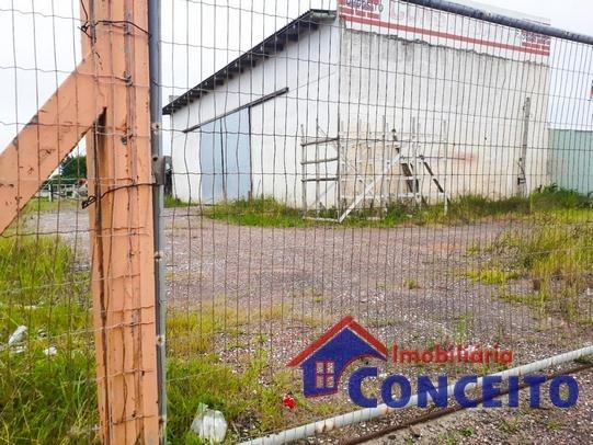 C49 - #> Pavilhão com 04 terrenos e 288 m² de área construída