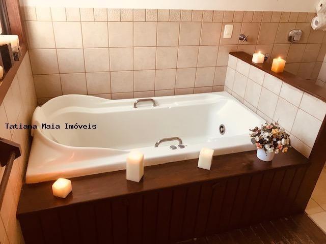 Vende Casa Cond. Fechado em Candelária 3 Suítes 5 Wc 320 mts² Dep.Comp - Foto 14