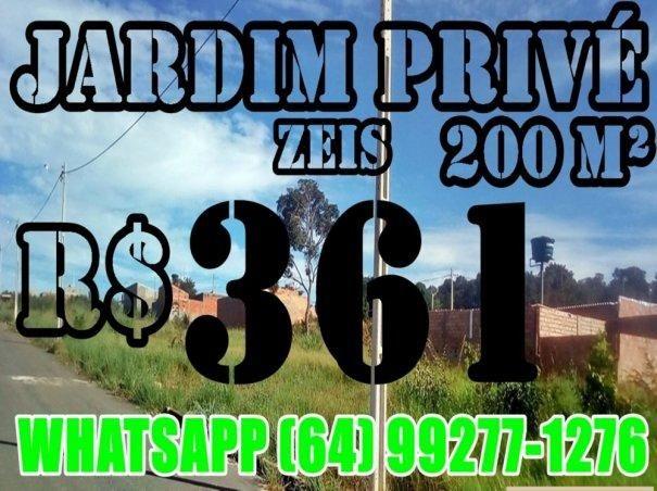 Lotes a venda com preço baixo Caldas Novas GO - Jardim Privé