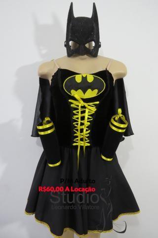 Locação fantasia Batgirl P/M adulto