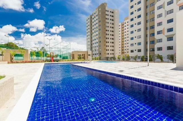 Vendo lindo apartamento 2/4 ecopark com ótima área de lazer - Foto 11