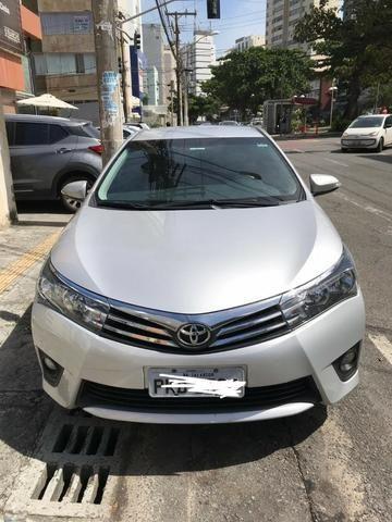 Toyota Corolla Xei 2017 único dono
