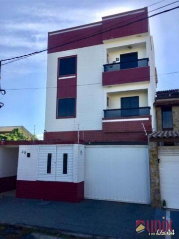 Pq. Rosário - Apto 02 qtos, 65 m², com varanda, bem localizado.