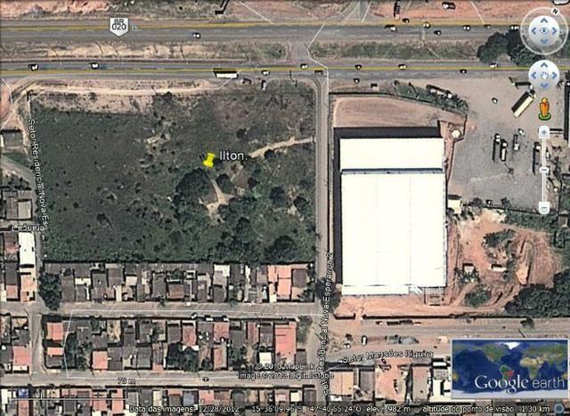 Vendo Excelente terreno de frente a Br 020 planaltina Df Ao lado do Atacadão Ultrabox - Foto 2
