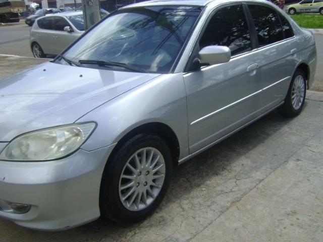 Honda Civic 1.7 Ex Automático 2005/2005 Simone * - Foto 7