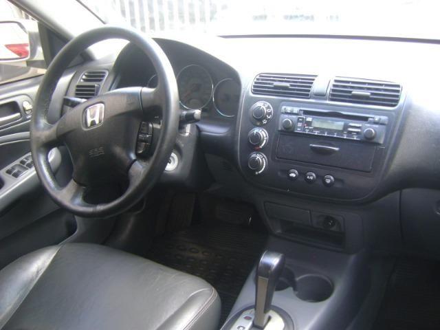 Honda Civic 1.7 Ex Automático 2005/2005 Simone * - Foto 10