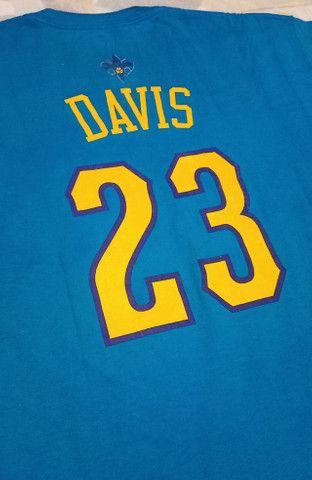 Camisa Adidas Nba Hornets Anthony Davis #23! Muito Rara! - Foto 4