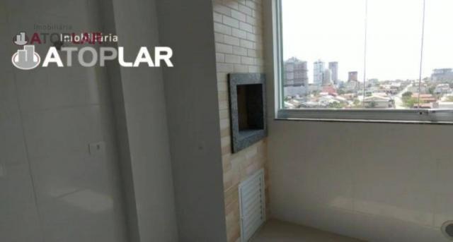 Apartamento com 3 dormitórios para alugar, 70 m² por R$ 2.200/mês - Perequê - Porto Belo/S - Foto 2